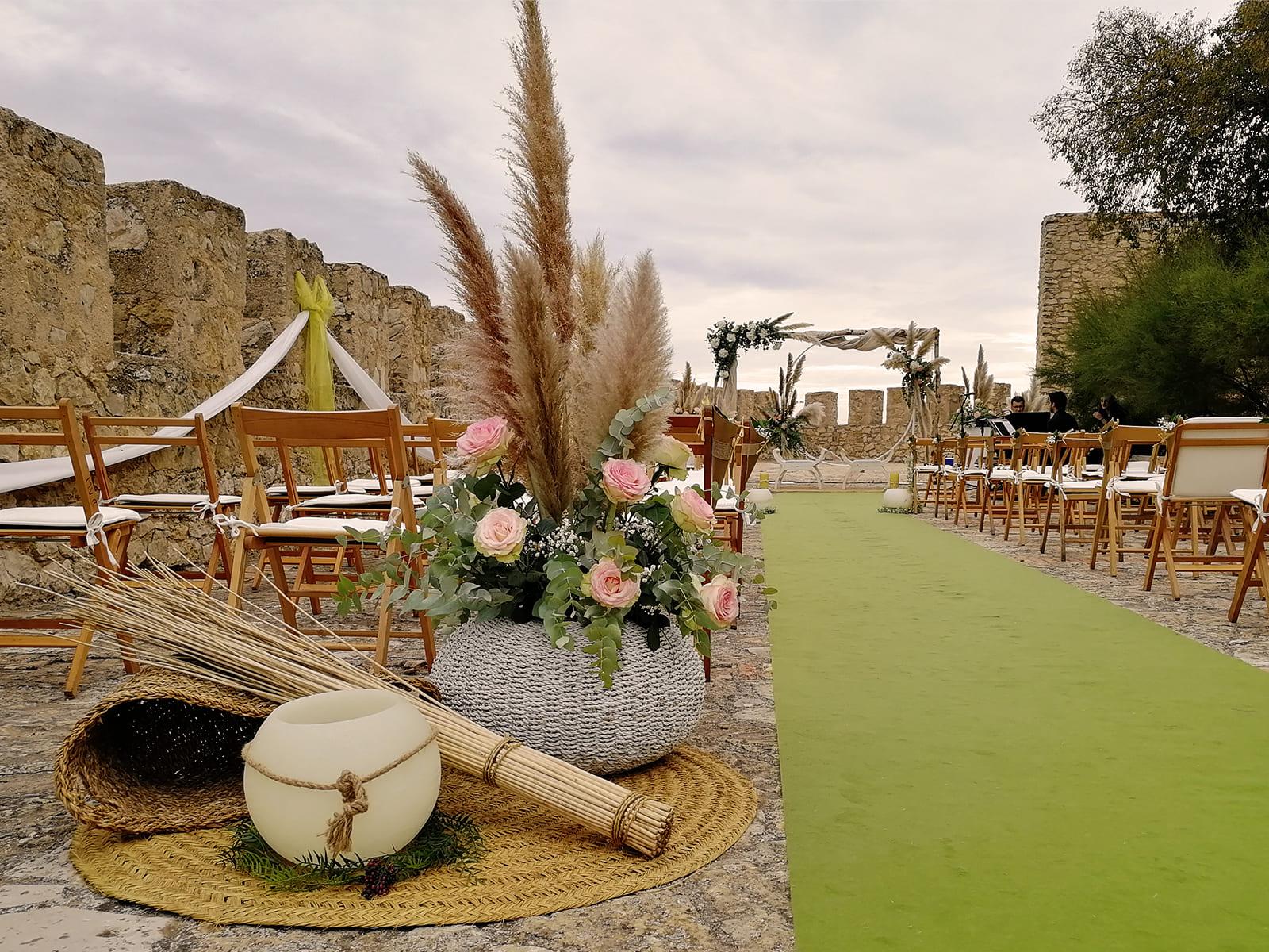 boda-civil-castillo-tonos-verdes-LJ-04_HIDROJARDIN-Bañeres