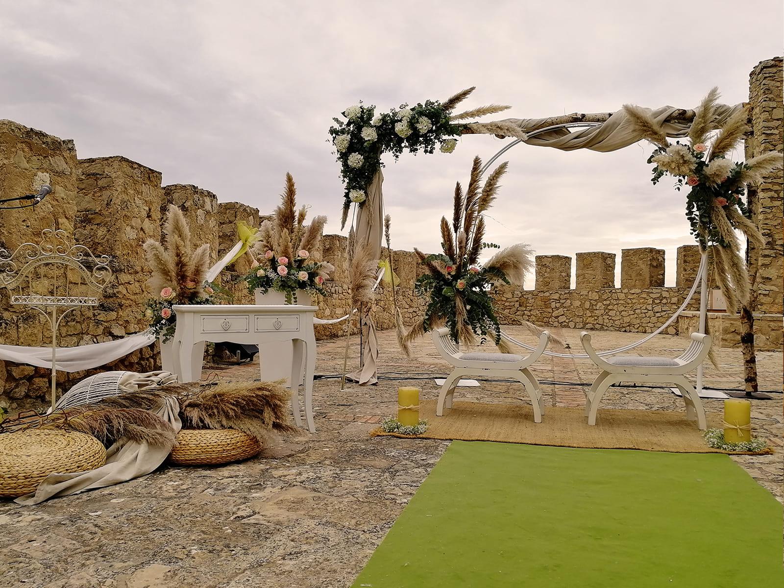 boda-civil-castillo-tonos-verdes-LJ-06_HIDROJARDIN-Bañeres
